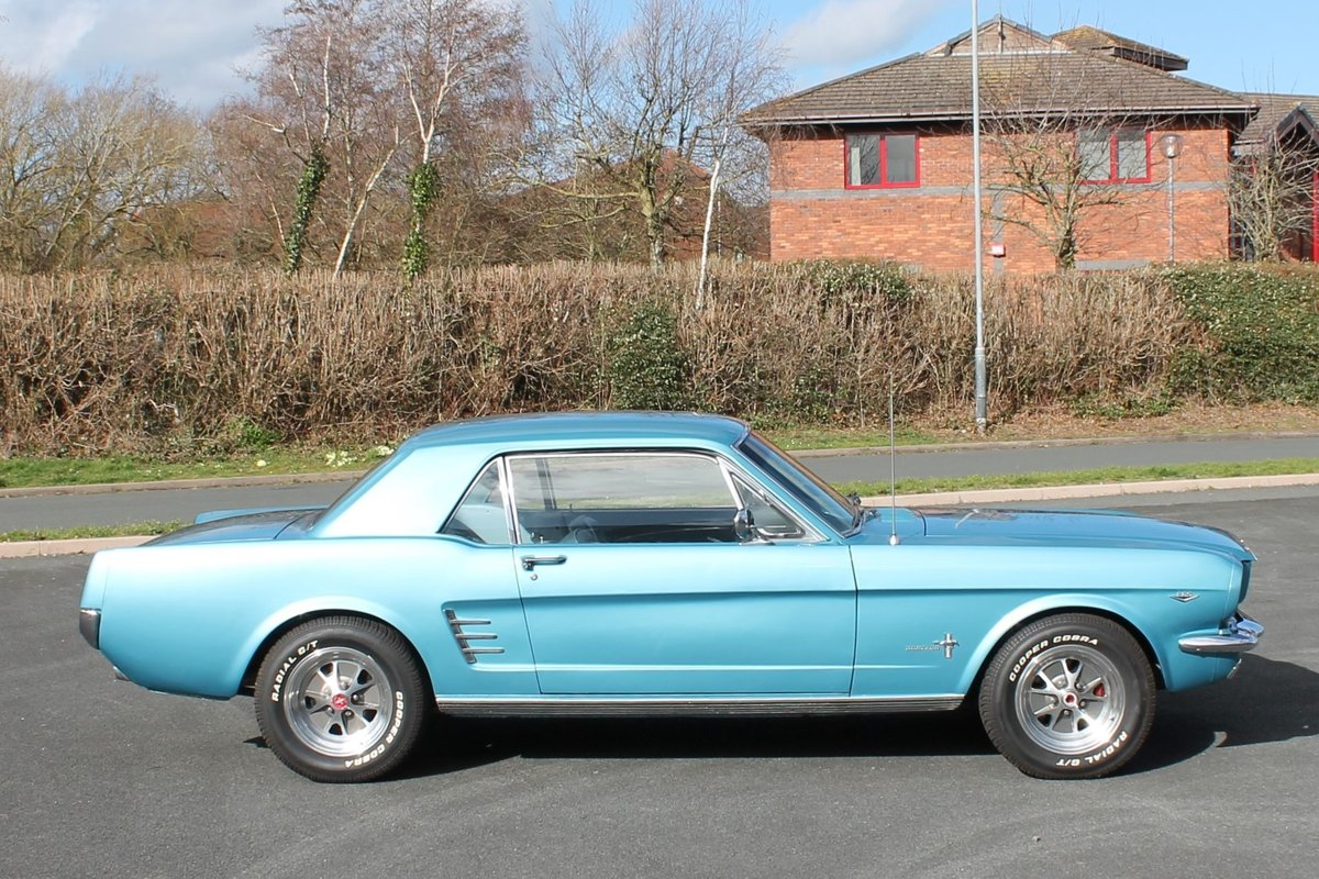 1966 Ford Mustang 289 V8 Automatic Power Steering For Sale (picture 3 of 6)