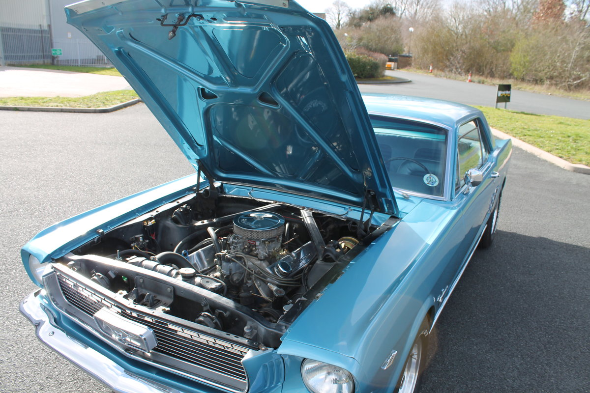 1966 Ford Mustang 289 V8 Automatic Power Steering For Sale (picture 4 of 6)