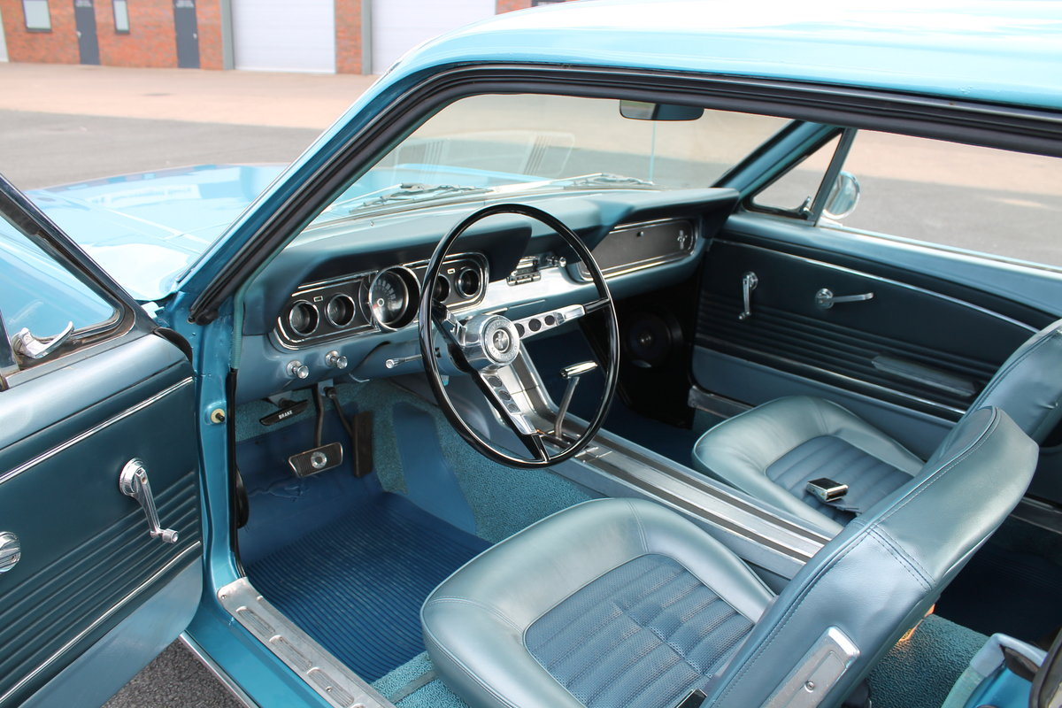 1966 Ford Mustang 289 V8 Automatic Power Steering SOLD (picture 5 of 6)