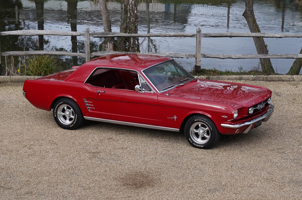1966 classic ford mustang 289 v8 auto for sale picture 1 of 6