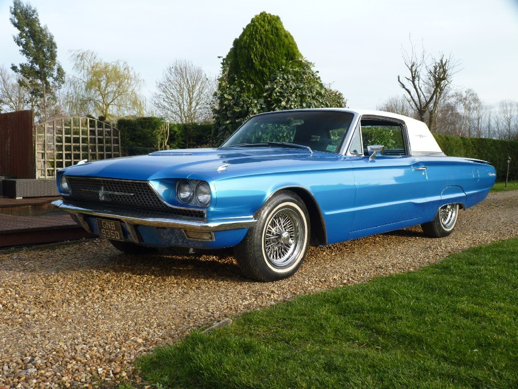 1966 Ford Thunderbird Q Code 428 Restored SOLD (picture 2 of 6)