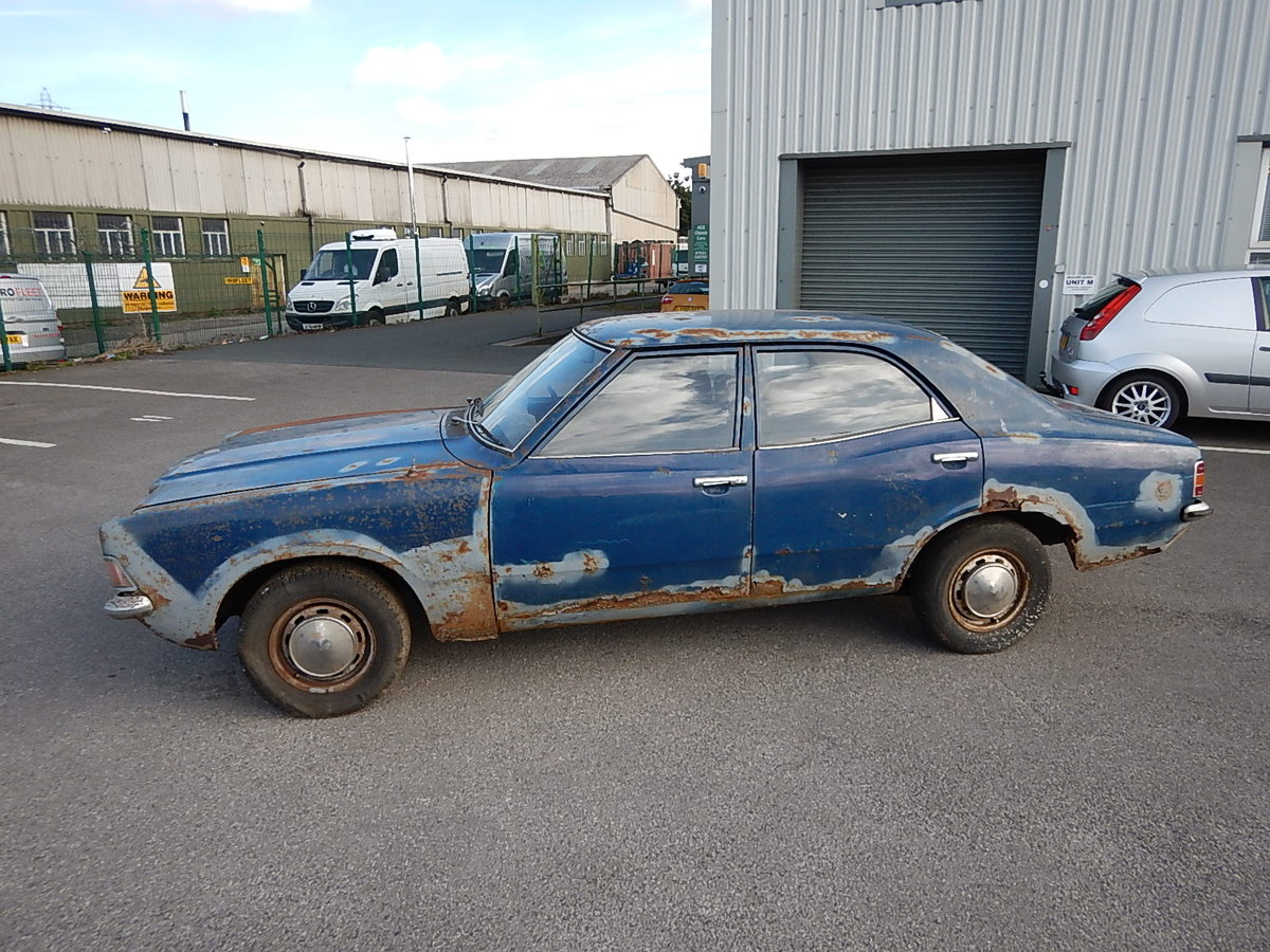 1973 FORD CORTINA Mk3 1.3 Base Saloon ~ Genuine Barn Find ~  SOLD (picture 1 of 6)