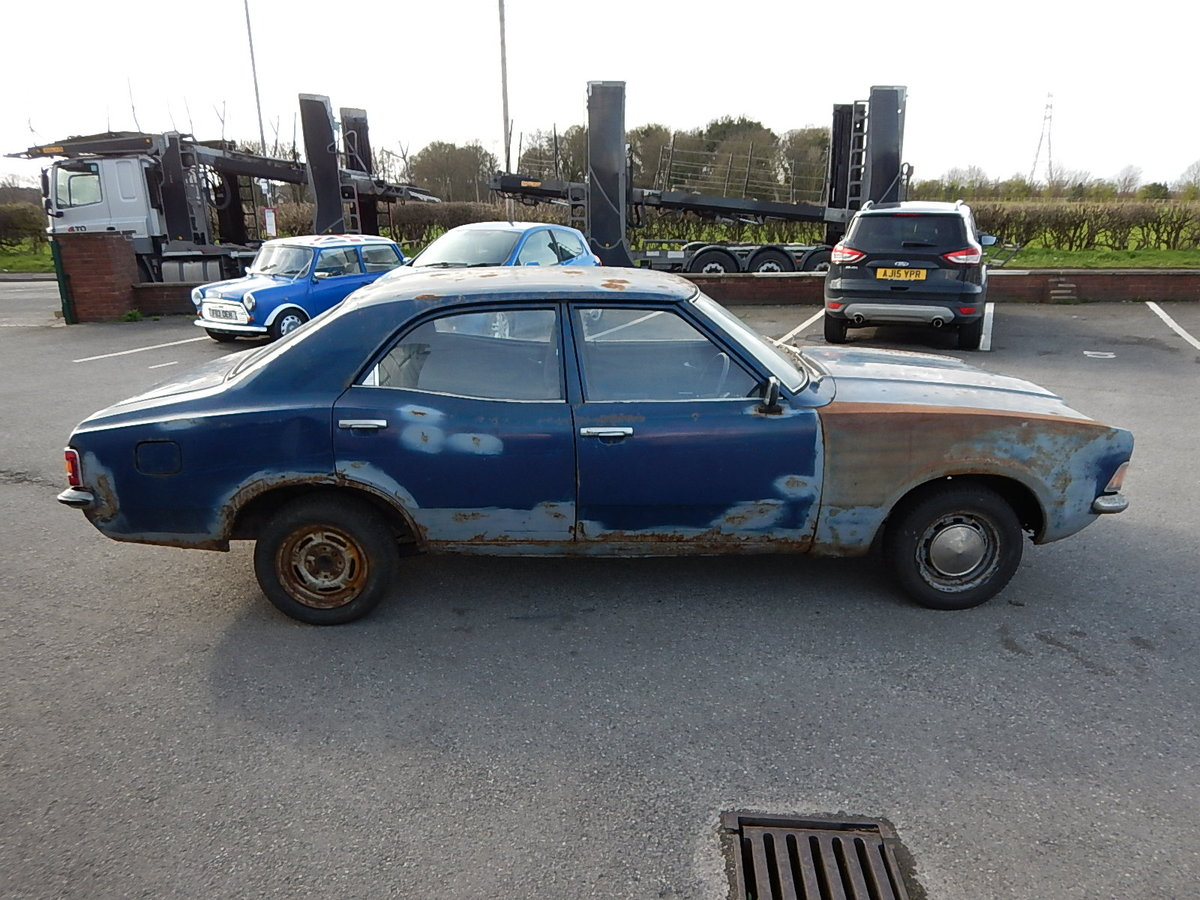 1973 FORD CORTINA Mk3 1.3 Base Saloon ~ Genuine Barn Find ~  SOLD (picture 3 of 6)