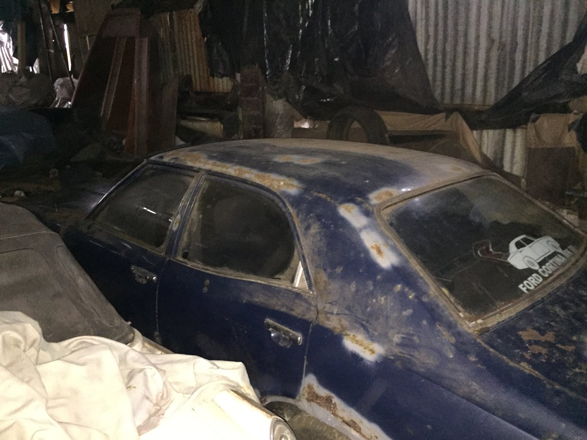 1973 FORD CORTINA Mk3 1.3 Base Saloon ~ Genuine Barn Find ~  SOLD (picture 6 of 6)