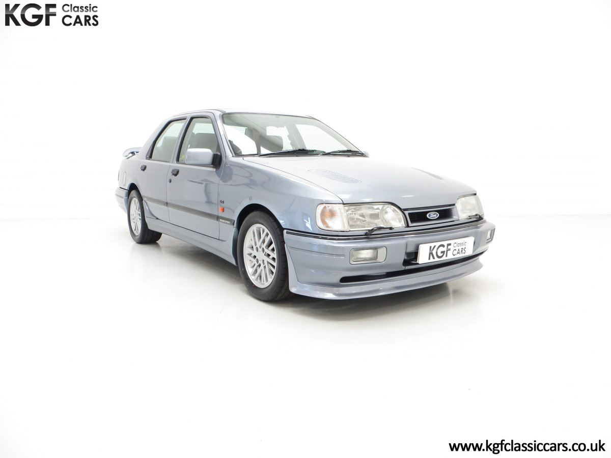 1990 A Ford Sierra Sapphire Rouse Sport RS Cosworth, 32,076 miles SOLD (picture 1 of 6)