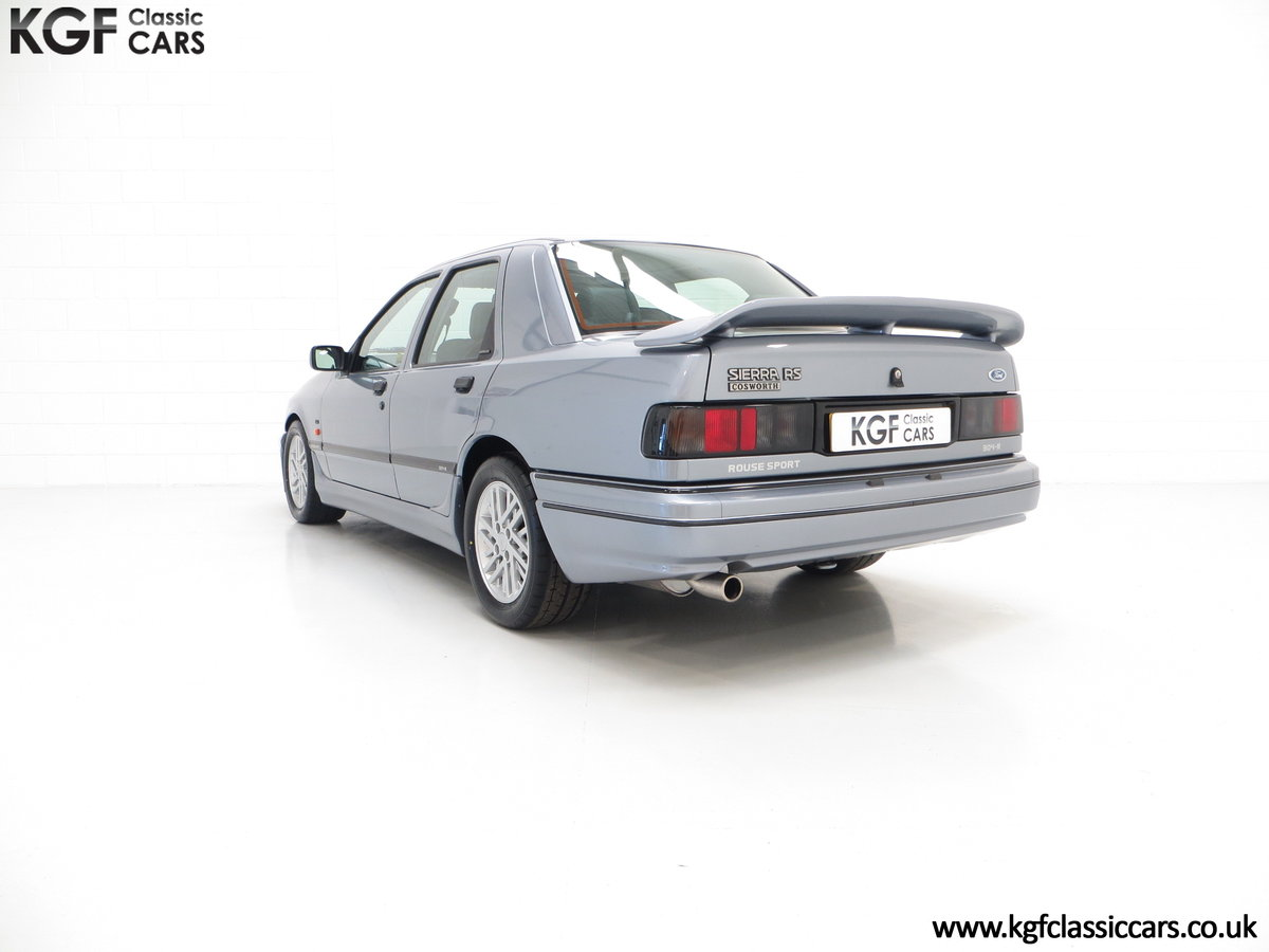 1990 A Ford Sierra Sapphire Rouse Sport RS Cosworth, 32,076 miles SOLD (picture 4 of 6)