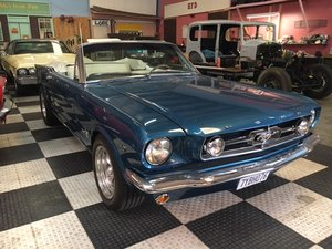 1965 1964.5 Mustang Convertible Restored Shipping Included For Sale