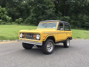 1976 Ford Bronco Ranger = Restored Correct 302 under 1k mile