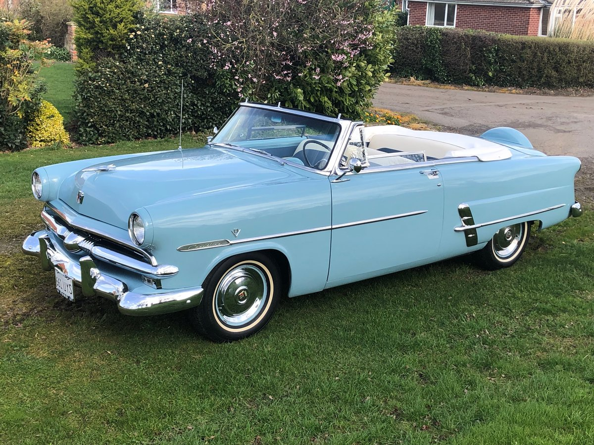 Ford Sunliner convertible-1953 anniversary edition-rare For Sale (picture 1 of 6)