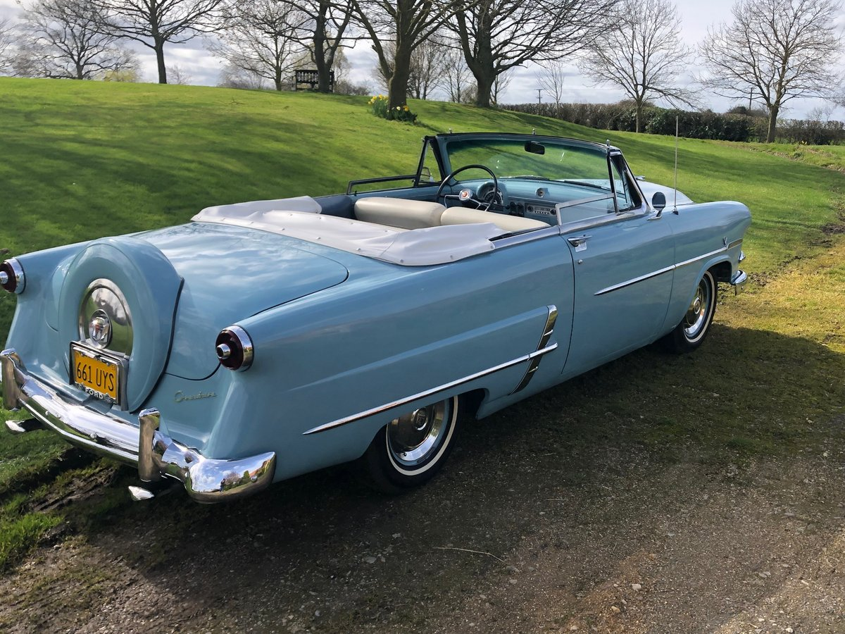 Ford Sunliner convertible-1953 anniversary edition-rare For Sale (picture 2 of 6)