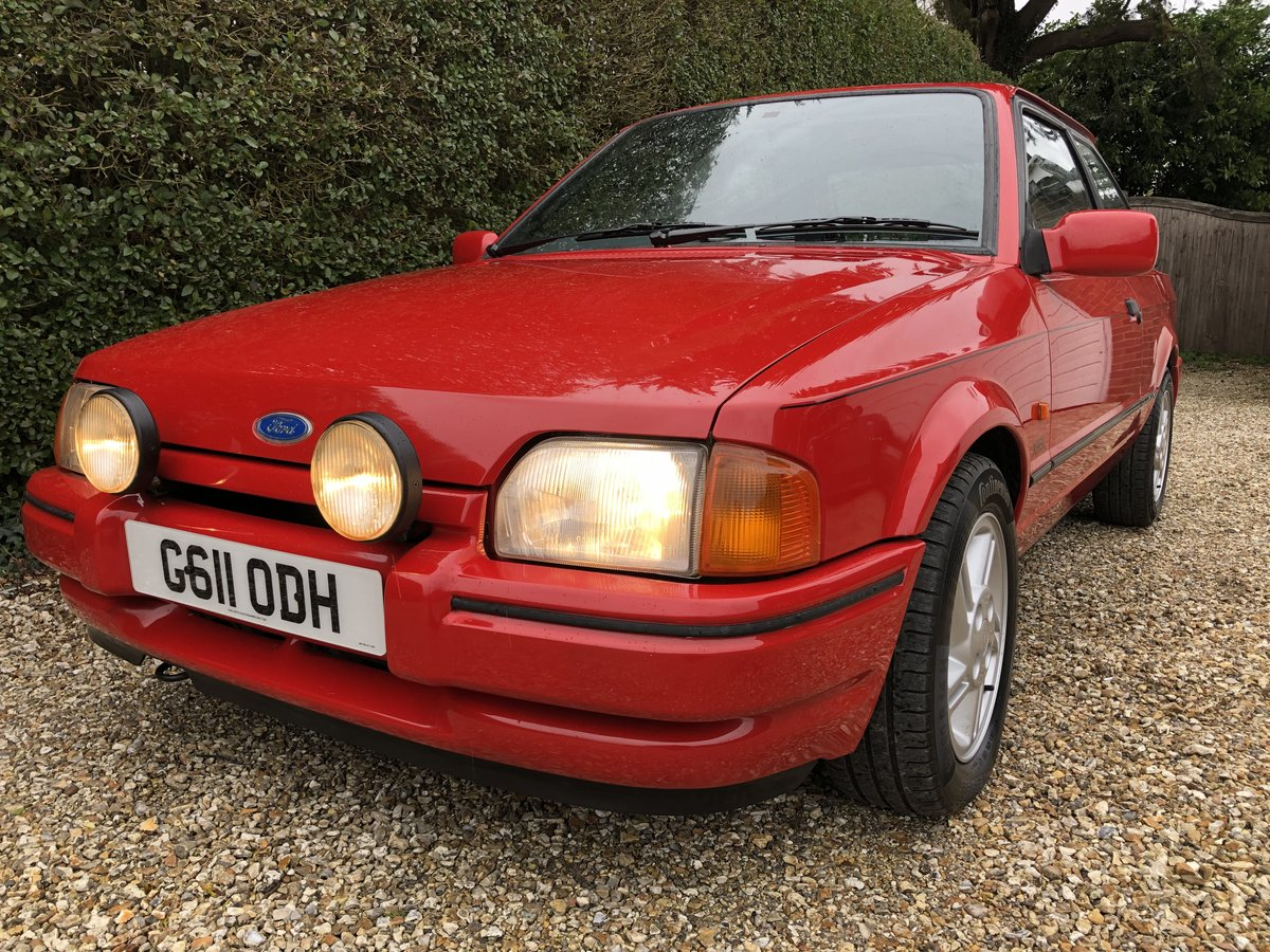 Superb Mk4 Escort Xr3i 1989 Sold Car And Classic