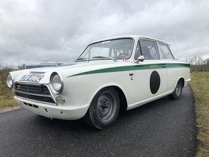 1963 Ford Lotus Cortina MK1 FIA Racecar  For Sale