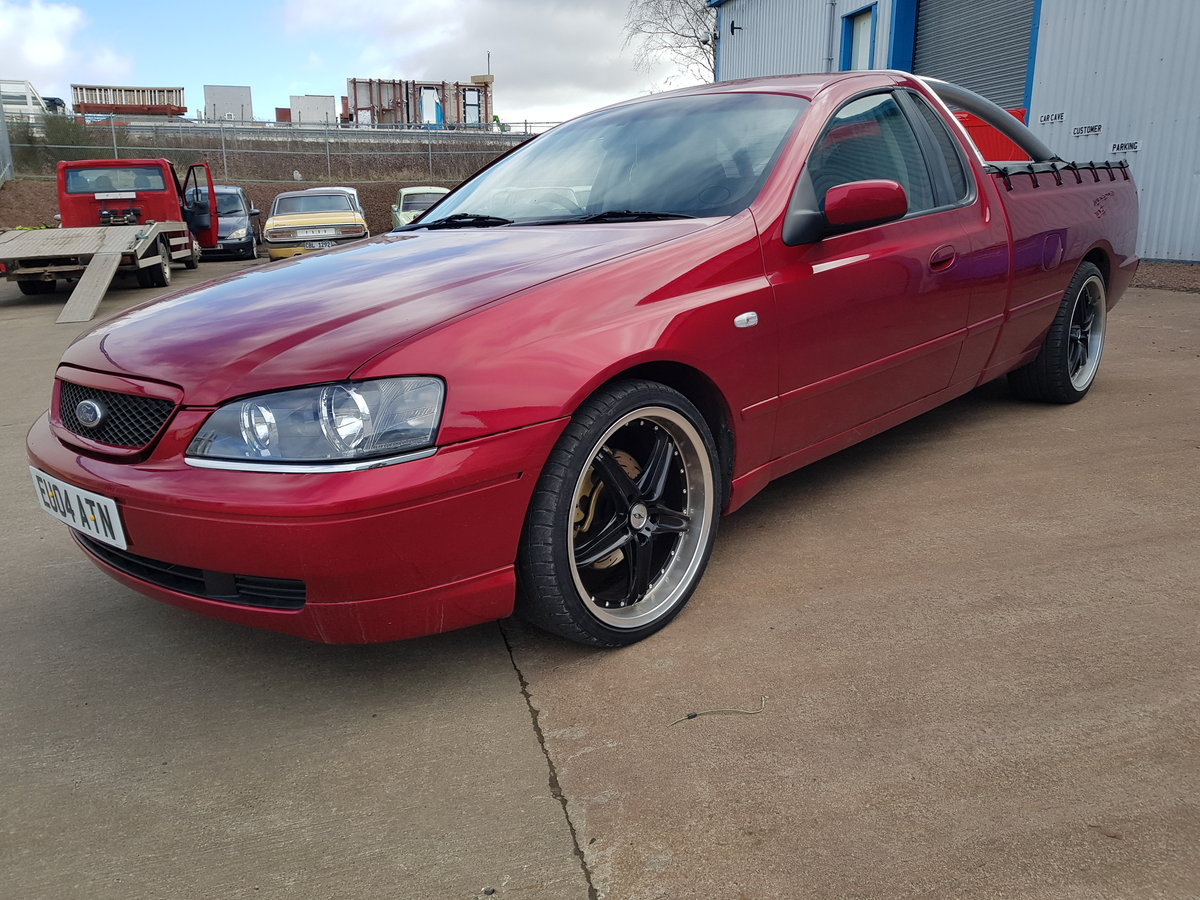 2004 Ford Falcon 4.0 Ute For Sale (picture 2 of 6)