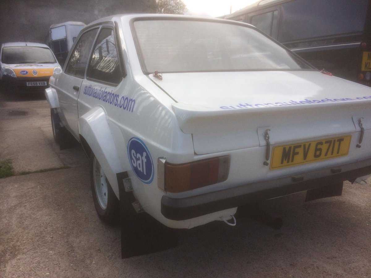 1979 Escort mk2 rally car For Sale (picture 2 of 6)