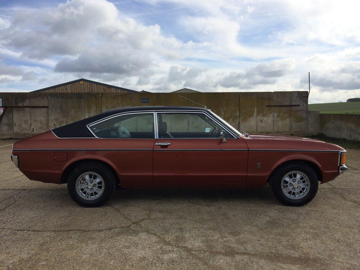 1975 FORD GRANADA MK1 3.0 GHIA AUTO FULLY RESTORED SOLD (picture 3 of 6)