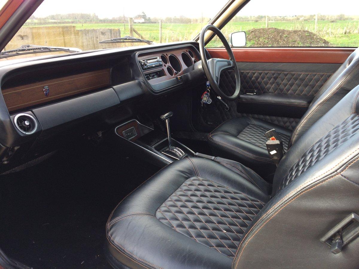 1975 FORD GRANADA MK1 3.0 GHIA AUTO FULLY RESTORED SOLD (picture 4 of 6)