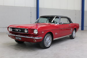 FORD MUSTANG CABRIO, 1966 For Sale by Auction