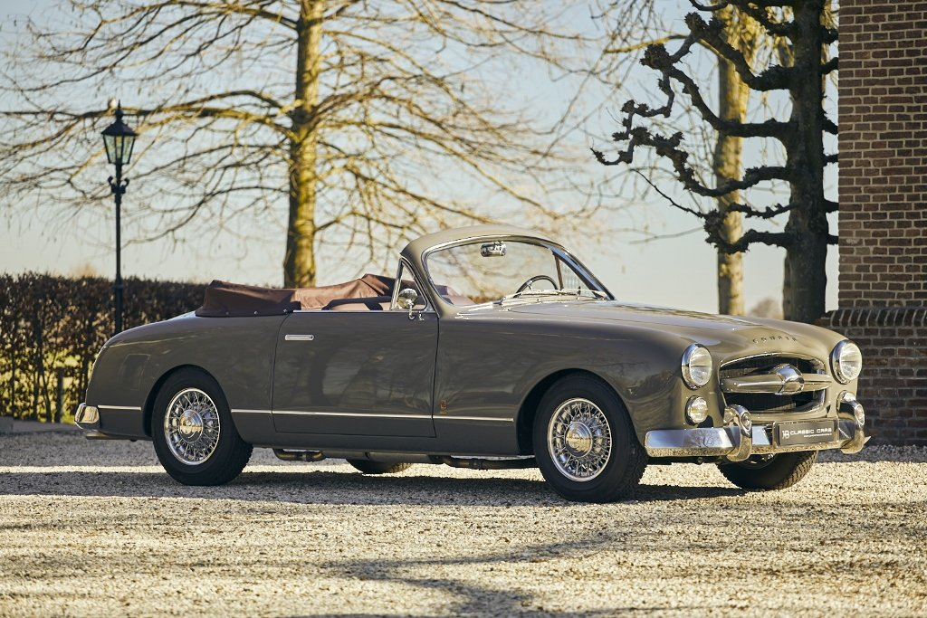 Ford Comète Cabriolet V8 'Monte Carlo' 1953 For Sale (picture 1 of 6)