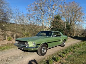 1968 FORD MUSTANG CS GTS California Special For Sale by Auction