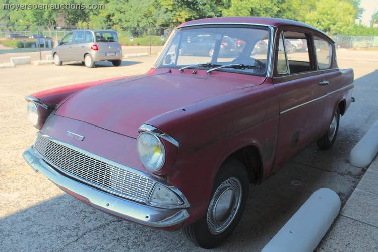 1962 FORD Anglia Sportsman Deluxe For Sale by Auction (picture 1 of 3)