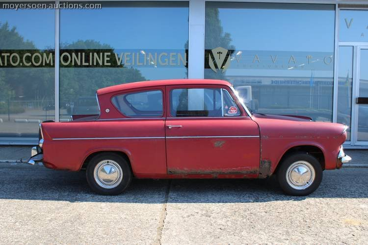 1962 FORD Anglia Sportsman Deluxe For Sale by Auction (picture 3 of 3)