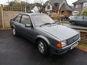 1984 FORD ESCORT XR3i CLASSIC *MOT JULY* LOW MILES For Sale