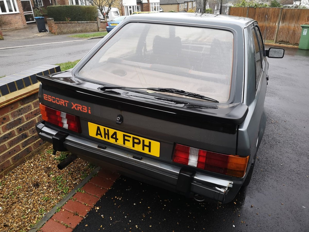 1984 FORD ESCORT XR3i CLASSIC *MOT JULY* LOW MILES For Sale (picture 2 of 6)