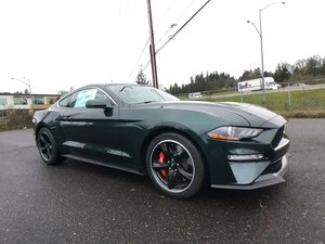 2019 Ford Mustang Bullitt Coupe = Fast 480-HP Manual $61.7k For Sale