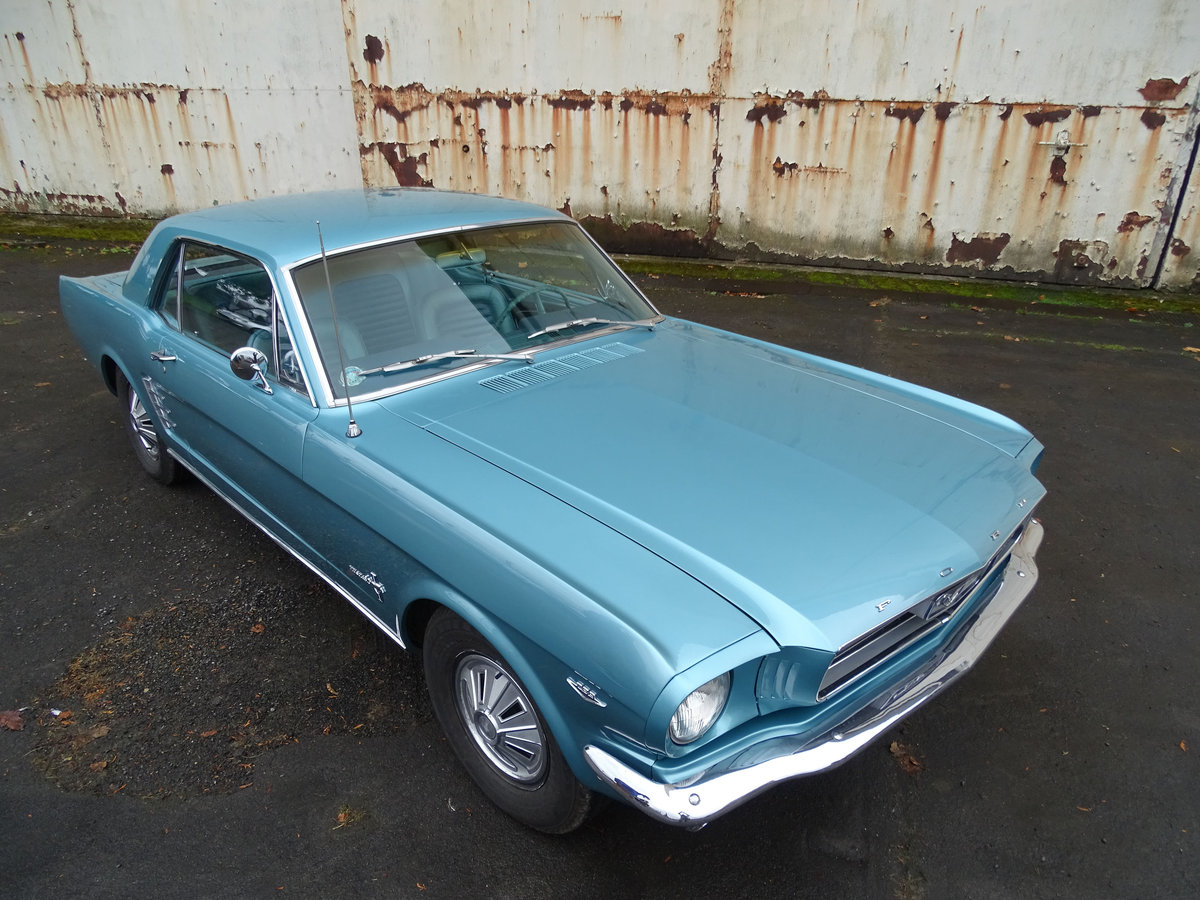 1966 Ford Mustang Coupe  For Sale (picture 1 of 6)