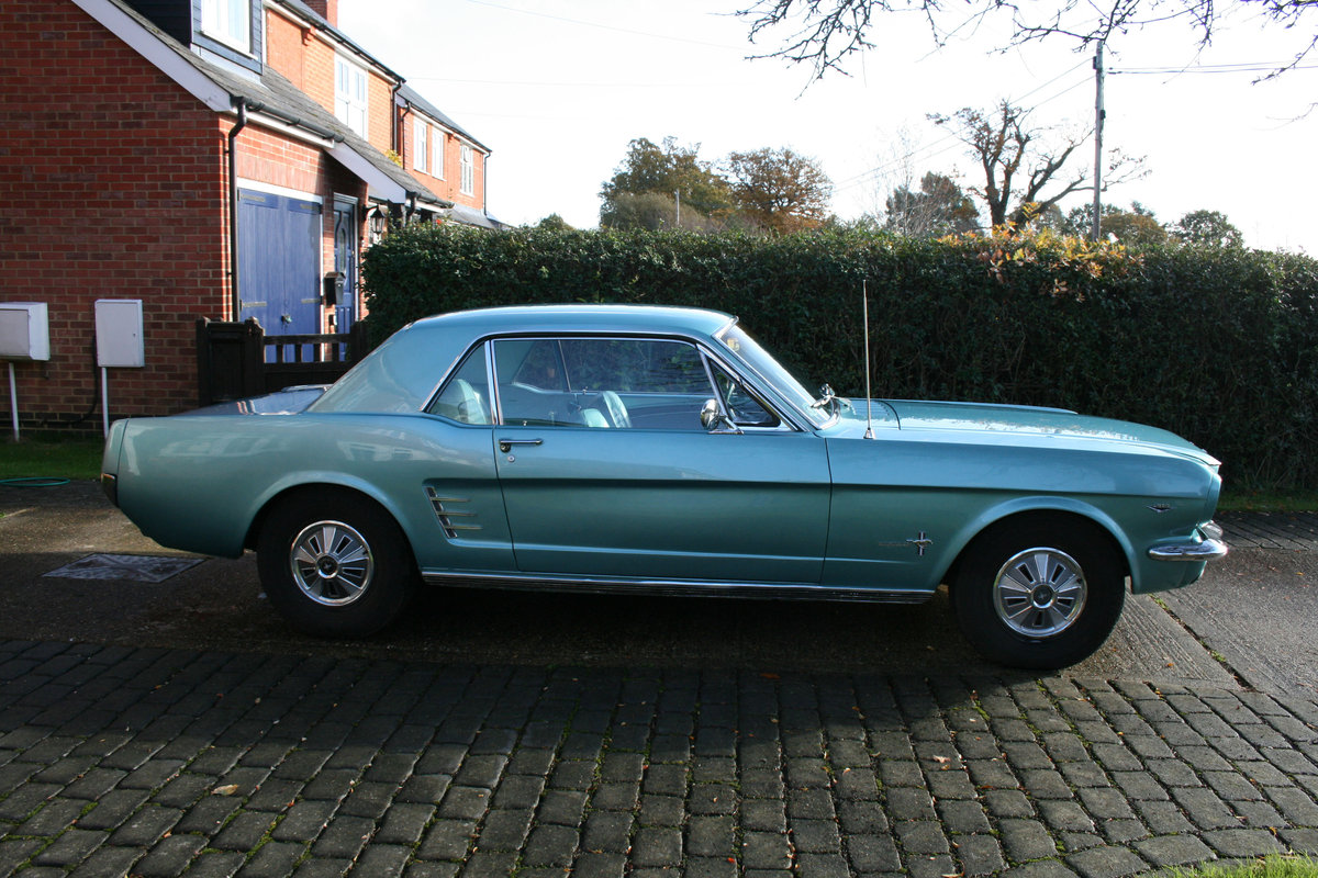 1966 Ford Mustang Coupe  SOLD (picture 2 of 6)