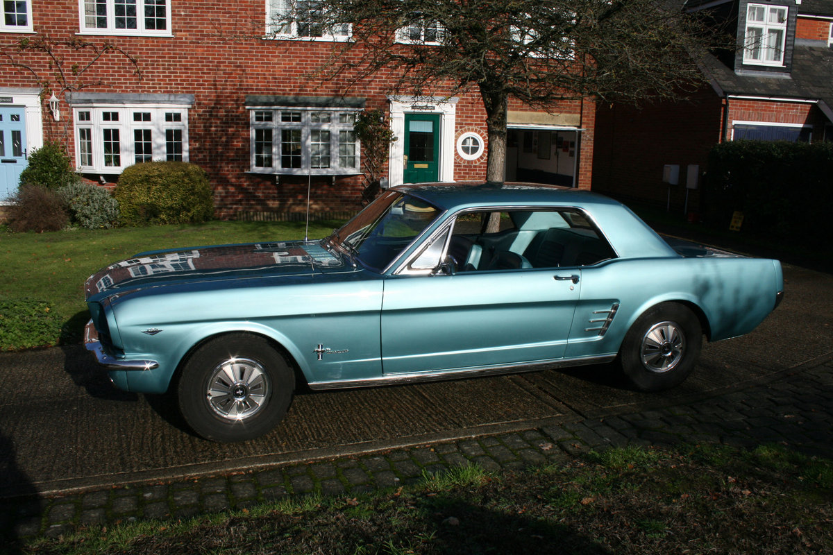 1966 Ford Mustang Coupe  SOLD (picture 3 of 6)