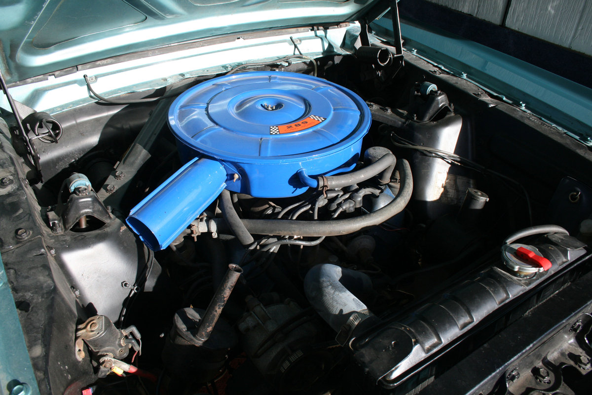 1966 Ford Mustang Coupe  SOLD (picture 5 of 6)