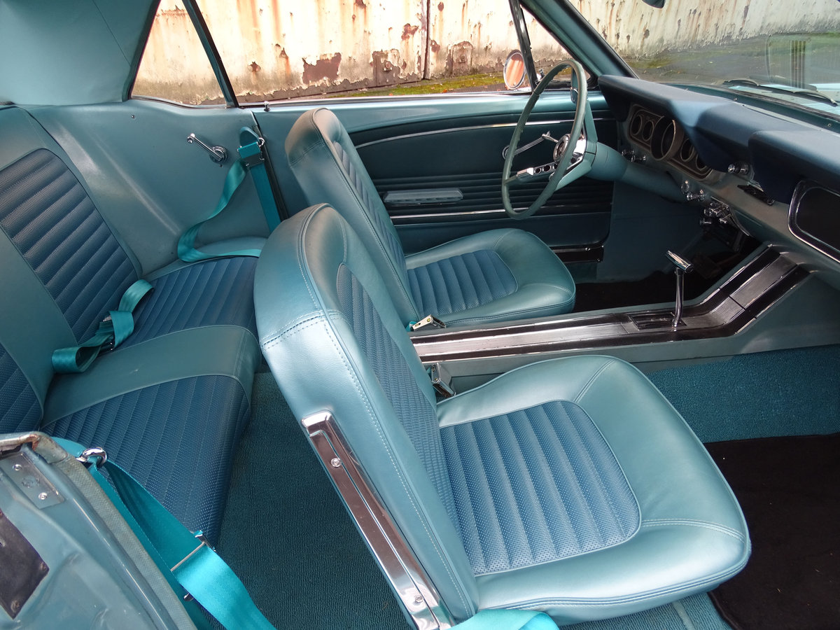 1966 Ford Mustang Coupe  SOLD (picture 6 of 6)