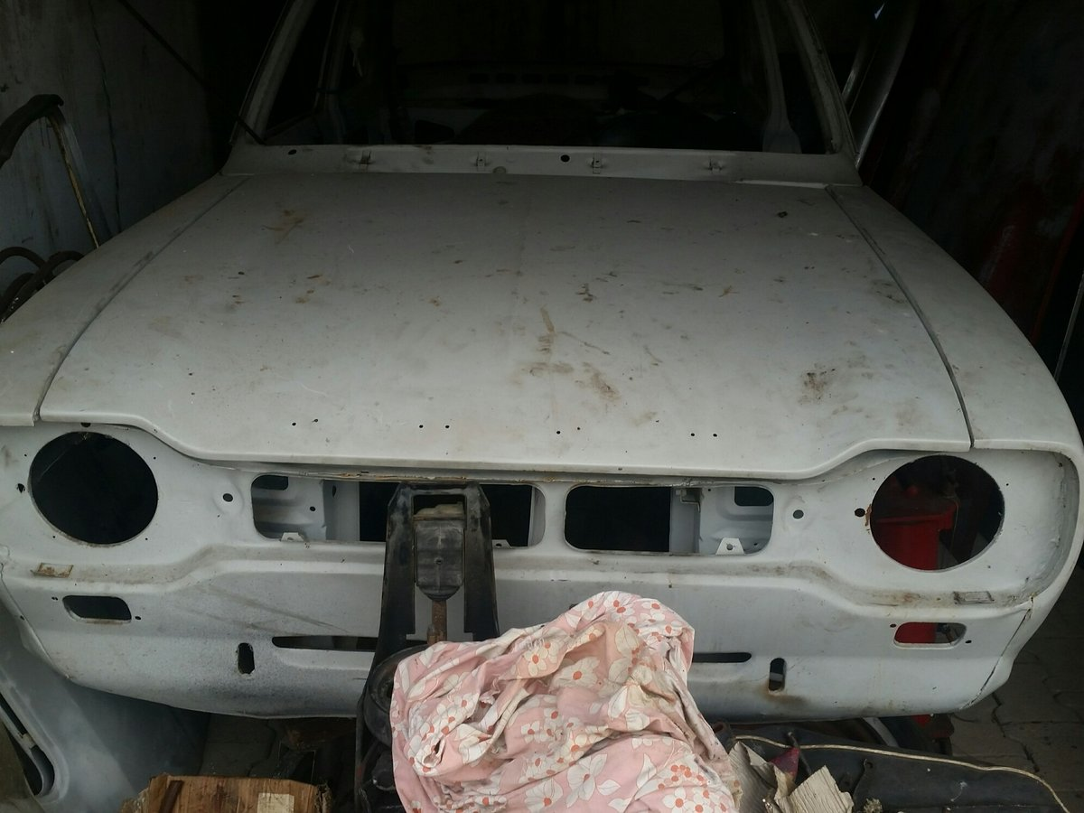1971 Escort MK1 Twin Cam Project  RHD For Sale (picture 1 of 3)