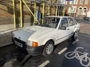 1988 Ford Escort MK4 in White For Sale