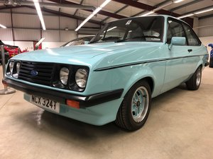 1979 Escort RS 2000 Custom for sale at EAMA Auction 30/3  For Sale by Auction