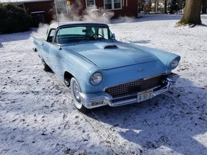 1957 Ford Thunderbird (Cranberry Twp, Pa) $49,900 obo For Sale
