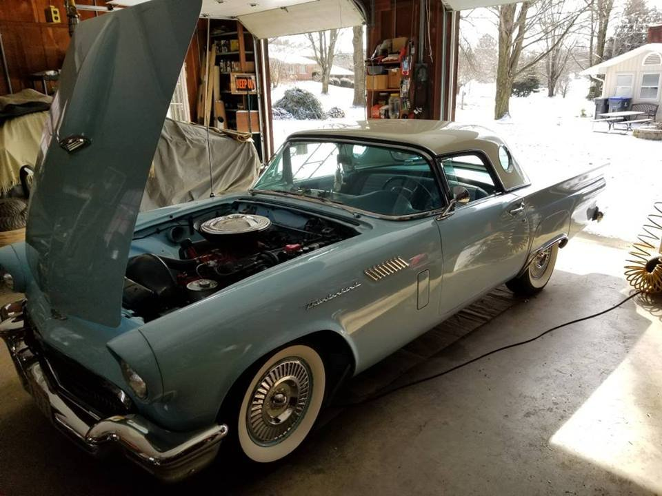 1957 Ford Thunderbird (Cranberry Twp, Pa) $49,900 obo For Sale (picture 2 of 6)