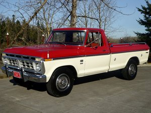 1976 Ford F250 Pick-Up Truck =clean driver 390 auto $12.5k For Sale
