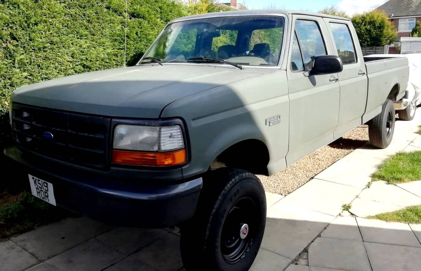 1992 FORD F350 Full Cab Military Spec. 5.8 V8 Auto For Sale (picture 1 of 6)