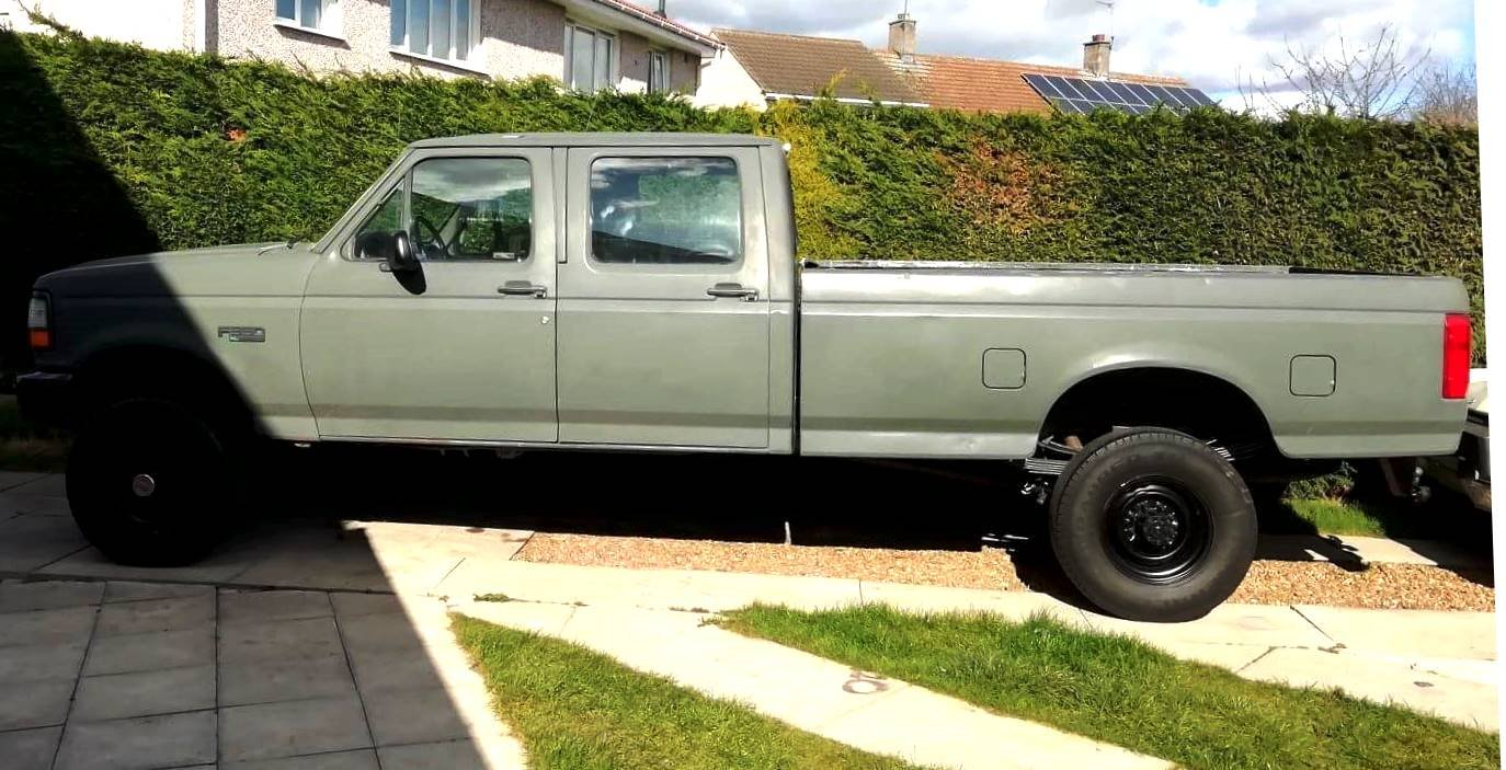 1992 FORD F350 Full Cab Military Spec. 5.8 V8 Auto For Sale (picture 2 of 6)