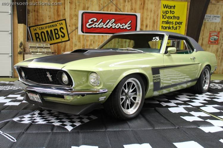 1969 FORD Mustang Boss-clon For Sale (picture 1 of 6)