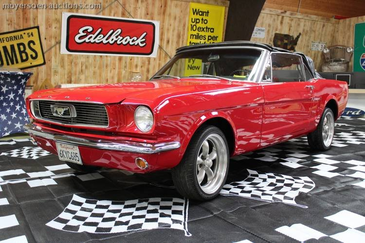 1966 FORD Mustang cabriolet  For Sale by Auction (picture 1 of 6)