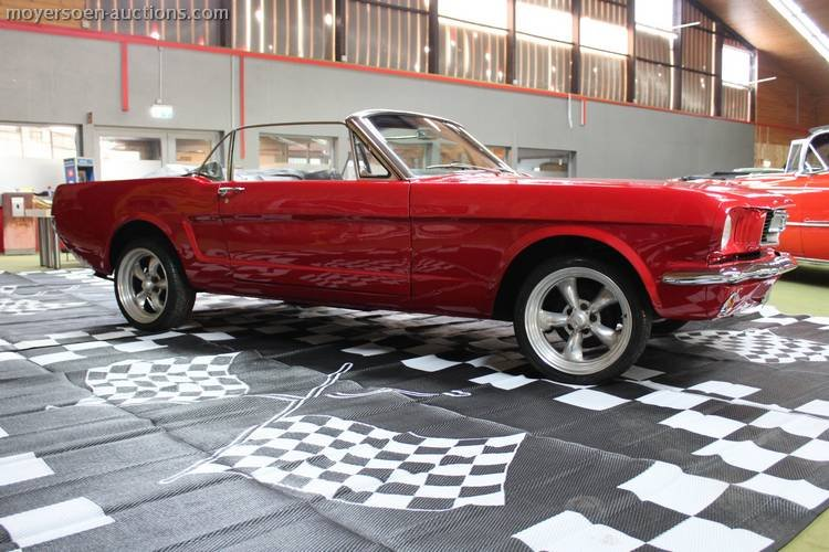 1966 FORD Mustang cabriolet  For Sale by Auction (picture 4 of 6)