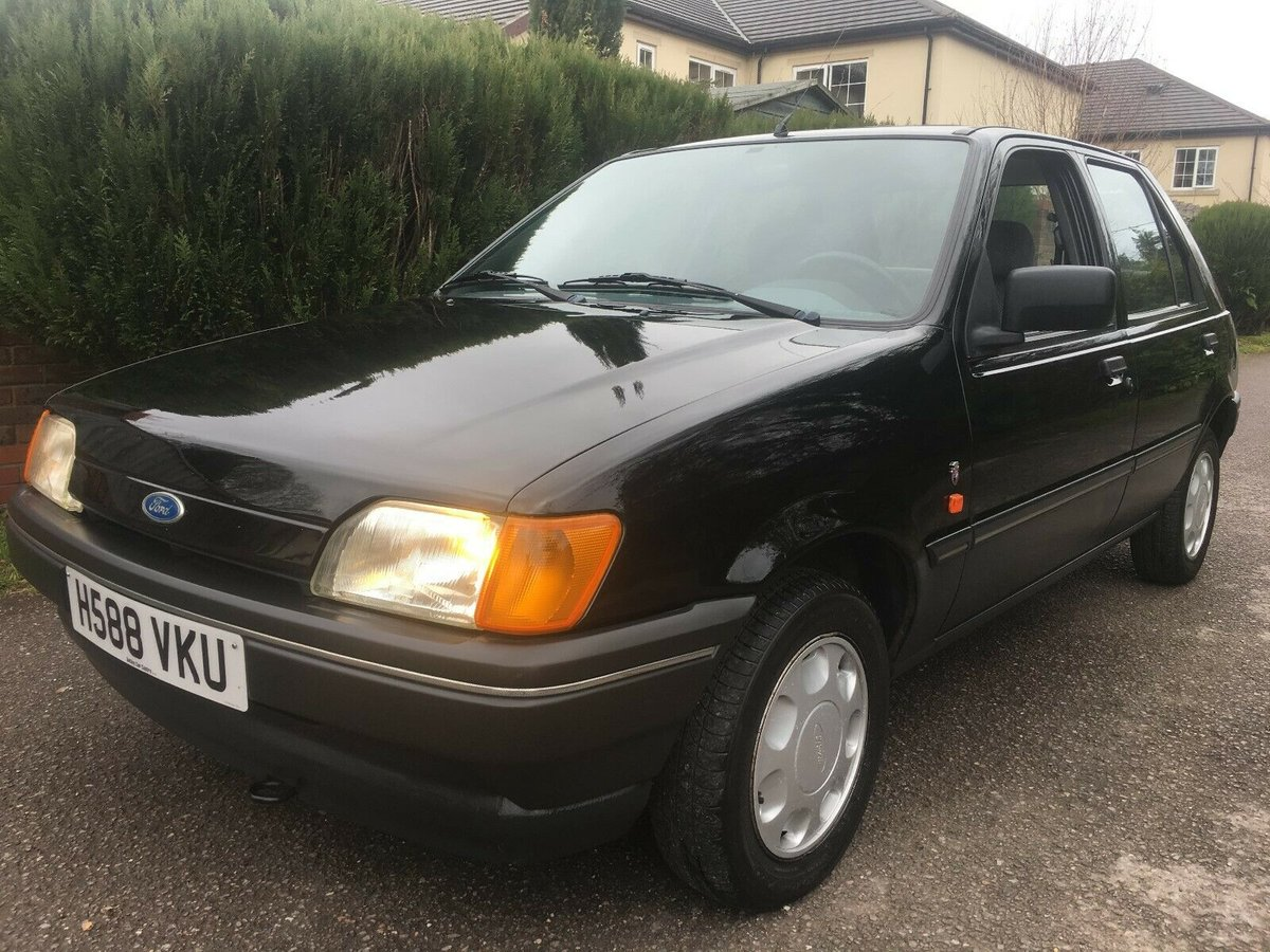 1990 FORD FIESTA 1.4 GHIA LHD AUTO ONLY 40,000 MILES SUPERB For Sale (picture 1 of 6)