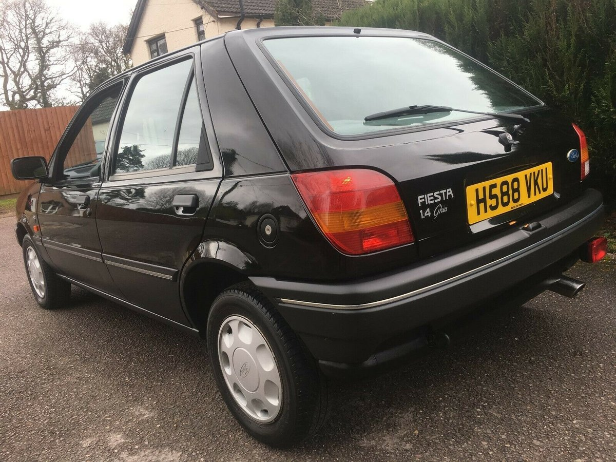 1990 FORD FIESTA 1.4 GHIA LHD AUTO ONLY 40,000 MILES SUPERB For Sale (picture 5 of 6)