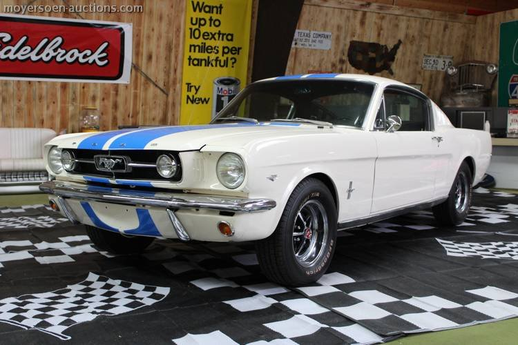 1965 FORD Mustang coupe For Sale by Auction (picture 1 of 6)
