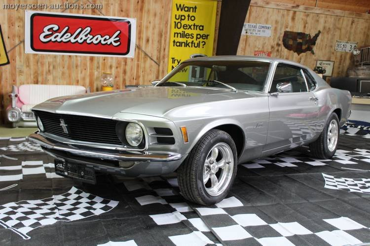 1970 FORD Mustang Fastback For Sale (picture 1 of 6)