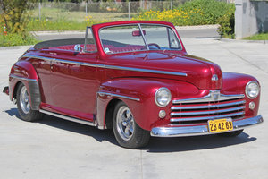 1948 Ford Super Deluxe Convertible = Restored 289 AT AC $59.