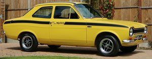 1973 Ford RS AVO Escort Mexico MK1. The World Record Breaker .... For Sale